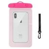Waterproof case universal pink мал.2