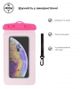 Waterproof case universal pink мал.4