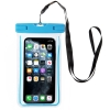 Waterproof case universal blue рис.1