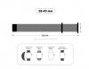 Armorstandart Ribbed для Apple Watch 38-40 mm Light Grey (ARM51977) мал.3