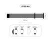 Armorstandart Ribbed для Apple Watch 42-44 mm Pink (ARM51985) мал.3