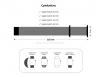 Armorstandart Ribbed для Apple Watch 42-44 mm Black (ARM51986) мал.3