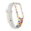 Xiaomi ремешок Mi Band 3 (White with flowers) рис.2