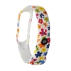 Xiaomi ремешок Mi Band 4/3 (White with flowers) мал.3