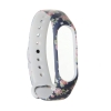 Xiaomi ремешок Mi Band 4/3 (Blue with flowers) рис.1