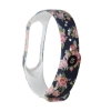 Xiaomi ремешок Mi Band 4/3 (Blue with flowers) рис.3