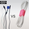Органайзер для кабеля ArmorStandart CC-923 Pink/Black (ARM52026) мал.5