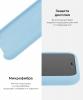 Apple iPhone XS/X Silicone Case (OEM) - Sky blue рис.6