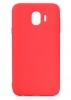 Samsung J4 2018 (J400) TPU Soft Touch - Red рис.1