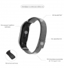 ArmorStandart Metal Milanese Magnetic Band for Xiaomi Mi Band 3 Matte Black рис.3