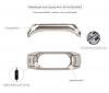 Ремешок нейлоновый ArmorStandart для Xiaomi Mi Band 3 Grey/Pink мал.4