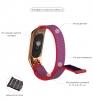 Ремешок нейлоновый ArmorStandart для Xiaomi Mi Band 3 Pink рис.3