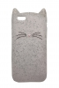 Beard Cat Silicon case for iPhone 6S transparent рис.1