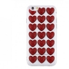 3D Love Silicon case for iPhone 6S red рис.1