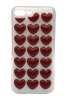 3D Love Silicon case for iPhone 8 plus/7 plus red мал.1