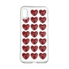3D Love Silicon case for iPhone X red мал.1