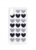 3D Love Silicon case for iPhone X black/silver рис.1