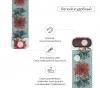 Armorstandart Milanese Loop Band для Apple Watch All Series 38-40mm Flowers Fuchsia (ARM52959) мал.2