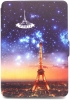 Leather Case for Amazon Kindle Paperwhite Night Paris рис.1