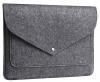 Чехол для ноутбука Gmakin для Macbook Air/Pro 13,3 темно-серый, на кнопке (GM62) мал.1