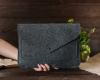Чехол для ноутбука Gmakin для Macbook Air/Pro 13,3 темно-серый, на кнопке (GM62) мал.10
