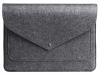 Чехол для ноутбука Gmakin для Macbook Air/Pro 13,3 темно-серый, на кнопке (GM62) мал.2