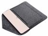 Чехол для ноутбука Gmakin для Macbook Air/Pro 13,3 темно-серый, на кнопке (GM62) мал.3