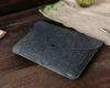 Чехол для ноутбука Gmakin для Macbook Air/Pro 13,3 темно-серый, на кнопке (GM62) мал.9