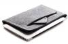 Чехол для ноутбука Gmakin для Macbook Air/Pro 13,3 светло-серый, на молнии (GM67) мал.1
