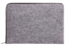 Чехол для ноутбука Gmakin для Macbook Air/Pro 13,3 светло-серый, на молнии (GM67) мал.4
