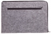 Чехол для ноутбука Gmakin для Macbook Air/Pro 13,3 светло-серый, на молнии (GM67) мал.5
