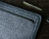Чехол для ноутбука Gmakin для Macbook Air/Pro 13,3 светло-серый, на молнии (GM67) мал.6