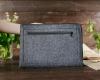 Чехол для ноутбука Gmakin для Macbook Air/Pro 13,3 светло-серый, на молнии (GM67) мал.9