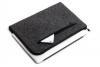 Gmakin Felt Cover with zip horisontal for Macbook Air 13,3/Pro 13,3 dark grey GM68 рис.1