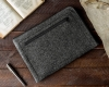 Чехол для ноутбука Gmakin для Macbook Air/Pro 13,3 темно-серый, на молнии (GM68) мал.10