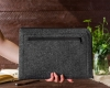 Чехол для ноутбука Gmakin для Macbook Air/Pro 13,3 темно-серый, на молнии (GM68) мал.12