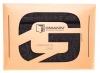 Чехол для ноутбука Gmakin для Macbook Air/Pro 13,3 темно-серый, на молнии (GM68) мал.13