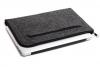 Чехол для ноутбука Gmakin для Macbook Air/Pro 13,3 темно-серый, на молнии (GM68) мал.2