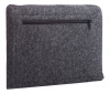 Gmakin Felt Cover with zip horisontal for Macbook Air 13,3/Pro 13,3 dark grey GM68 рис.5