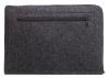 Чехол для ноутбука Gmakin для Macbook Air/Pro 13,3 темно-серый, на молнии (GM68) мал.6