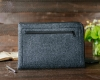 Чехол для ноутбука Gmakin для Macbook Air/Pro 13,3 темно-серый, на молнии (GM68) мал.7