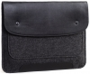 Gmakin Felt Cover with clasp-button for Macbook 13 new black GM01-13New рис.1