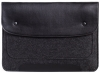 Gmakin Felt Cover with clasp-button for Macbook 13 new black GM01-13New рис.4