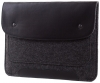 Gmakin Felt Cover with clasp-button for Macbook 13 new black GM01-13New рис.7