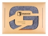 Чехол для ноутбука Gmakin для Macbook Pro 13 New светло-серый, коричневая полоса (GM10-13New) мал.12