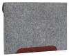 Чехол для ноутбука Gmakin для Macbook Pro 13 New светло-серый, коричневая полоса (GM10-13New) мал.3
