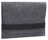 Gmakin Felt Cover horisontal for Macbook 13 new dark grey GM14-13New рис.1