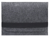 Gmakin Felt Cover horisontal for Macbook 13 new dark grey GM14-13New рис.2