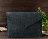Чехол для ноутбука Gmakin для Macbook Pro 13 New темно-серый, на кнопке (GM62-13New) мал.7