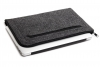 Gmakin Felt Cover horisontal for Macbook 13 new dark grey GM68-13New рис.3